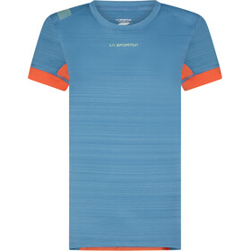 La Sportiva Sunfire T-Shirt Women, blu/rosso